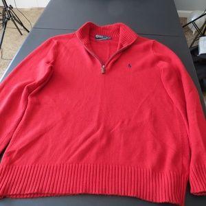 Red Ralph Lauren Sweater